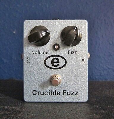 Euthymia Crucible Fuzz Guitar Synth Effects Pedal Fuzzface
