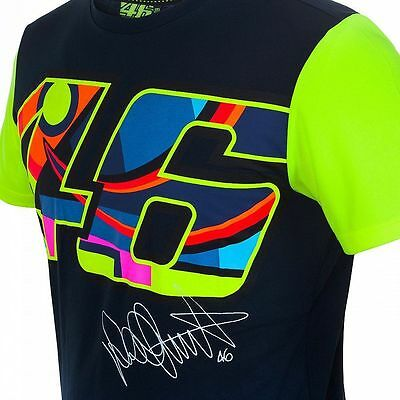 Official Valentino Rossi VR46 Blue T'Shirt - VRMTS 260102