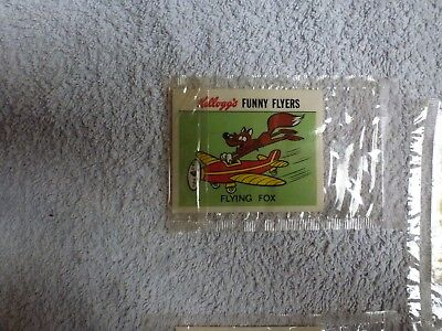 Cereal card. Kelloggs, FLYING FOX.