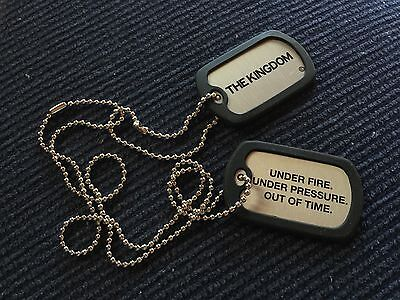 The Kingdom - Dog Tags Keychain - 2008 - New