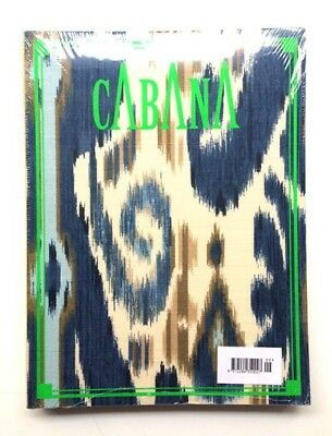 Cabana Magazine Issue 9 with green ikat covers by Kravet, new and sealed