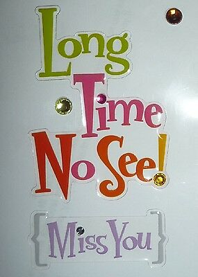 Long Time No See! Design Stickers for Apple iPhone/iPad/iPod & Smart Phone Decal