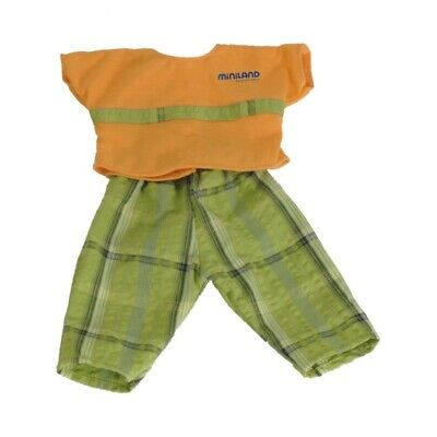 Miniland Doll Clothes Orange and Green Trousers 38cm