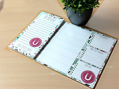 Fridge Notice Things To Do Magnetic Memo NotePad Planner Schedule List Pad Board