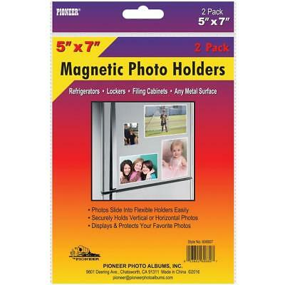 NEW Magnetic Photo Holders 2 pack 5X7