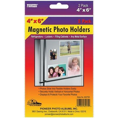 NEW Magnetic Photo Holders 2 pack 4X6