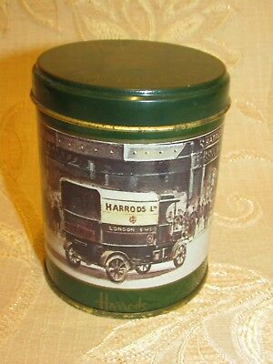 Vintage Harrods Tea Biscuits Tin