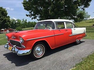 1955 Chevrolet Bel Air/150/210 chrome 1955 Chevy Belair