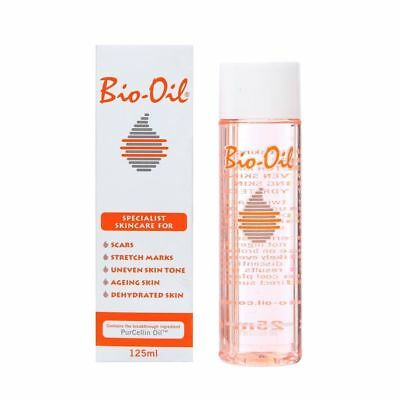 Bio-Oil with PurCellin Oil Skincare for Scars Stretch Marks, Aging Skin 60-125ML