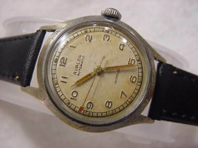 Vintage antique WWII World War II MILITARY BREITLING AVALON AUTOMATIC watch