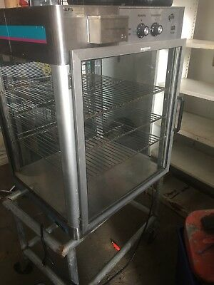 STAR COMMERCIAL (NSF) HEATED PIZZA Food Display MERCHANDISER Concession Warmer