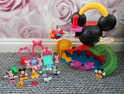 Fisher Price Disney Mickey Mouse Clubhouse Fly N Slide Playset + Extra Figures