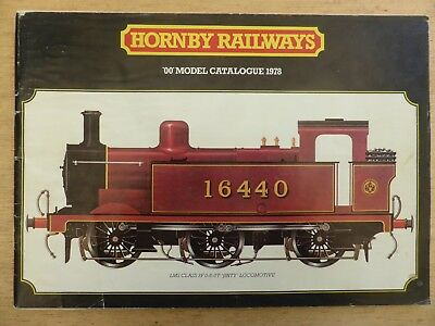 Hornby 1978 Train Catalogue 24th Edn (With Aust. Supplement)