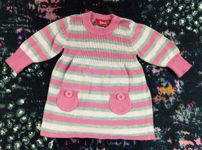 Sprout Baby Girls Long Sleeve Dress 00
