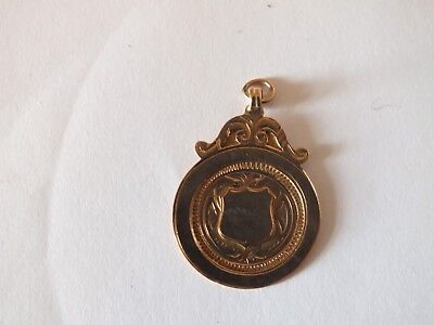 9ct gold watch chain fobs