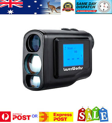 Laser Golf Rangefinder - Jolt, Pinsensor and Slope adjustment with LCD Screen