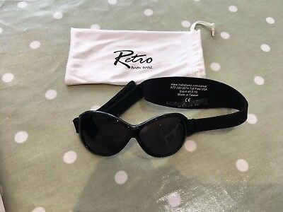 Baby Banz Retro Kids Sunglasses. With Pouch