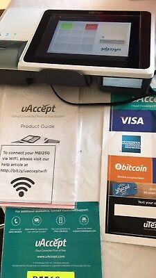 """uAccept MB2000 Point Of Sale Device With 8"""" Magnetic Card Reader - New"""