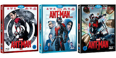 Ant-Man (2015, Blu-ray) Slip Case Edition / 2D, 3D, Combo / Pick one!