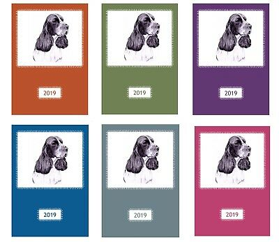 English Springer Spaniel Dog Show 2019 A5 Week Per View Diary by CuriosityCrafts