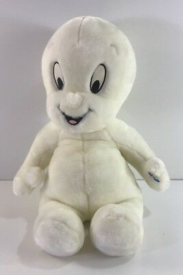 """17"""" Talking CASPER Plush Toy With Light Up Head From 1998 Works RARE"""