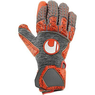 uhlsport Aerored Supergrip Reflex Torwarthandschuhe WM 2018 grau/rot 101105002