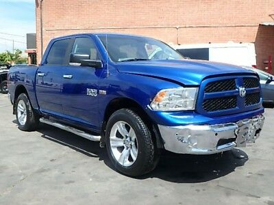2014 Dodge Ram 1500 SLT Crew Cab SWB 4WD 2014 DODGE RAM 1500 4WD Big Horn! Salvage Repairable! Beautiful Color! Must See!