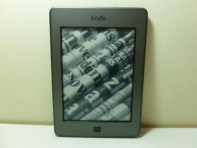 Amazon Kindle Touch 4th Gen 4GB Wifi D01200 eReader 4th Generation As Is