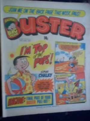 Buster  Comic.[ 20Th June 1981]. Final Part Of Buster Pull-Out!