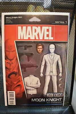Moon Knight #1 Action Figure Variant Series 1 Marvel 2016 Fist of Khonshu