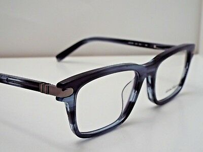 25a6096c75 Authentic SALVATORE FERRAGAMO SF2758 410 Striped Blue Eyeglasses Frame  310