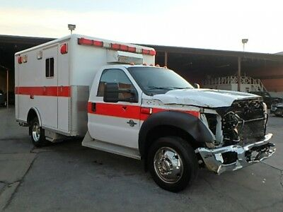 2011 Ford F-450 Regular Cab Ambulance 2011 Ford F-450 Regular Cab Ambulance Wrecked Clean Title Priced to Sell MustSee