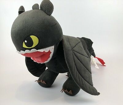 How To Train Your Dragon Toothless Dreamworks Plush Toy Stuffed