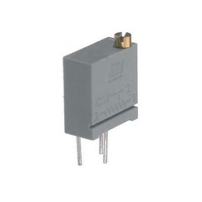 5 x TT Electronics/BI 67 Series 20-Turn Carbon Trimmer Resistor, 10kΩ ±10%