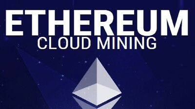 20 MH/s Ethereum cloud mining contract - 7 Days