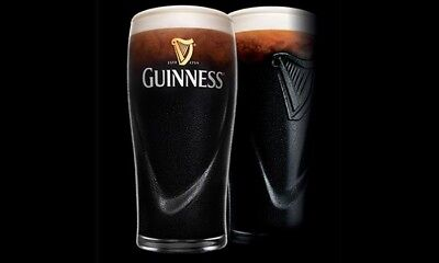 Guinness Gravity 20oz. Embossed Pint Beer Glasses