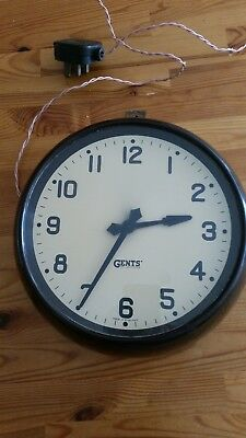 Vintage electric clock by Gents of Leicester