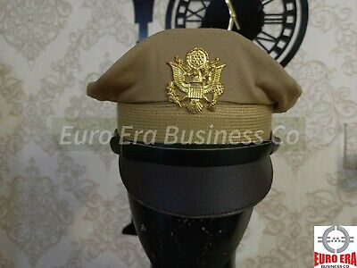 2756c772ea9 VINTAGE WW2 WWII US Army Air Forces Corps USAAF Visor Hat Cap ...