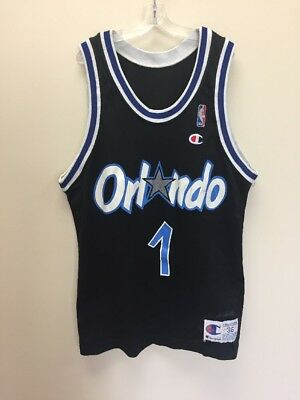 fc3c21626f5 Vintage Penny Hardaway Orlando Magic NBA Champion Jersey Size 36 Black