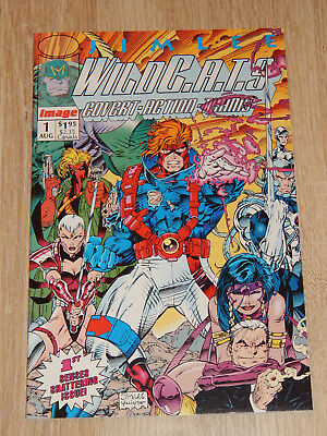 WILDCATS #1 (Image 1992) JIM LEE - 1st App. Key Issue