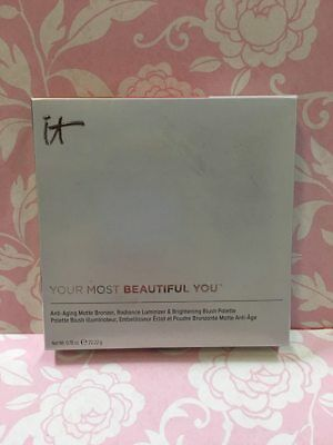 IT COSMETICS Your Most Beautiful You Anti-Aging Face Palette New in Box