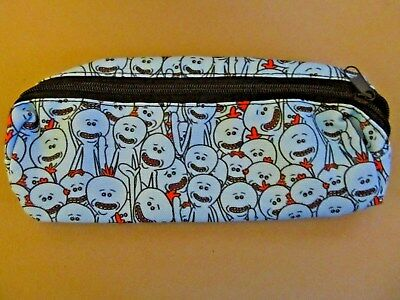Rick and Morty Canvas, Mr. Meeseeks Pencil Case, Cosmetic Bag, Purse (NEW)