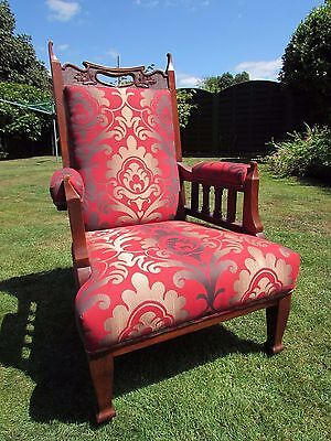 Antique arts and crafts/Art deco arm chair