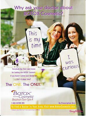 Print Ad~2006~Botox Cosmetic~Botulinum Toxin Type A~Advertisement~~H500