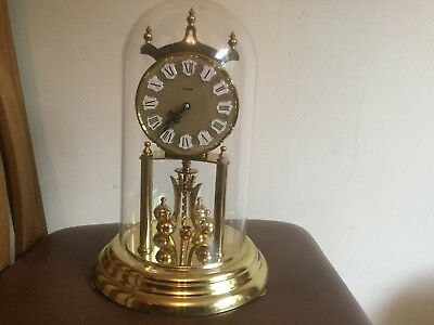 Vintage Kundo 400 Day, Anniversary, Torsion Clock With Key. Standard Size Works