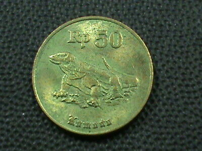 INDONESIA   50 Rupiah   1996   ,   $ 2.99  maximum  shipping  in  USA