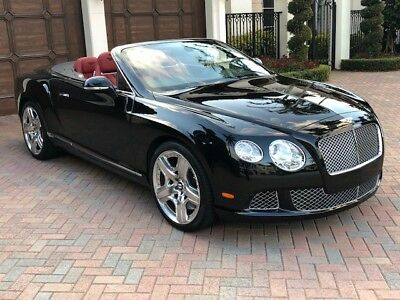 2012 Bentley Continental GT  Immaculate condition and garage-kept with only 6,909 miles