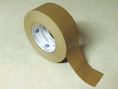 6 Rolls - 165 Ft Each -  SELF ADHESIVE Kraft Paper Tape NO WATER REQUIRED