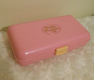Vintage Polly Pocket 1990 Pretty Hair Compact