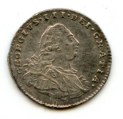 Genuine Silver Maundy 1800 Great Britain 1 Penny | AU Details | George III